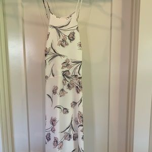 Lulus floral maxi dress- worn once!